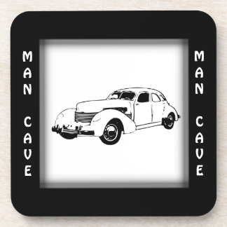 Antique Car Man Cave Coaster