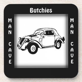 Antique Car Man Cave CUSTOMIZE Coaster
