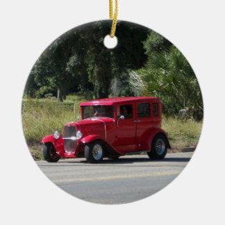 Antique car christmas ornaments