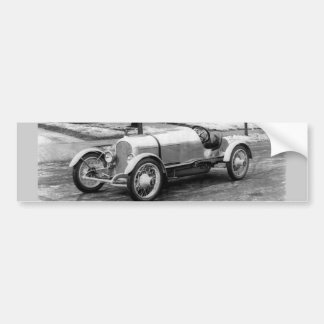Antique CAR Photo Bumper Sticker