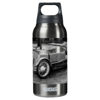 Antique CAR Photo Insulated Water Bottle