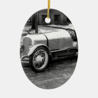 Antique CAR Photo Christmas Tree Ornaments