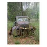 Antique Car postcard