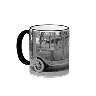 Antique Car Ringer Mug