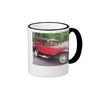 Antique car, THE BEST THINGS IN LIFE HAVE BEEN ... Ringer Mug