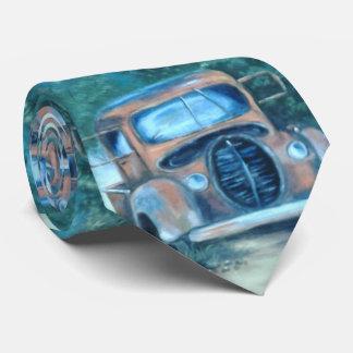 Antique Car Tie