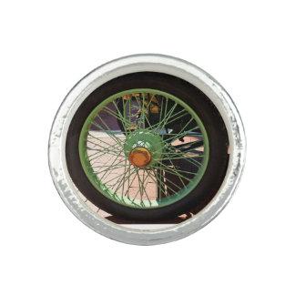 Antique car tire ring