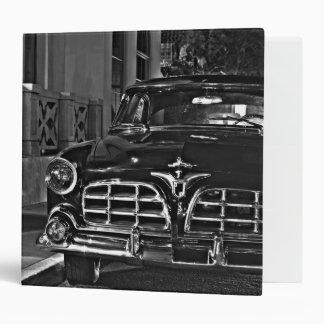 Antique Car Vinyl Binder