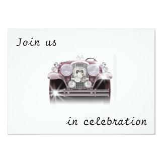 ANTIQUE CAR WEDDING INVITATIONS