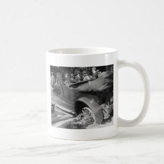 Antique Car Wreck, 1918 Coffee Mug