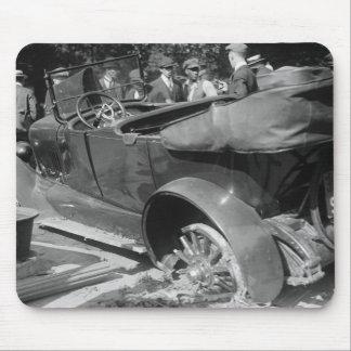 Antique Car Wreck, 1918 Mouse Pad