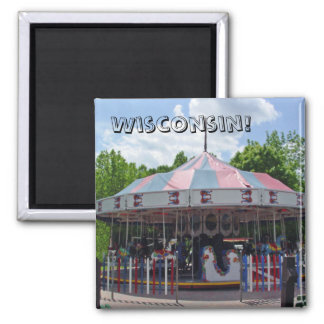 Antique Carousel Magnet