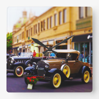 Antique Cars on Display at Country Club Plaza KC Clocks