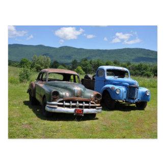 Antique Cars - Postcard