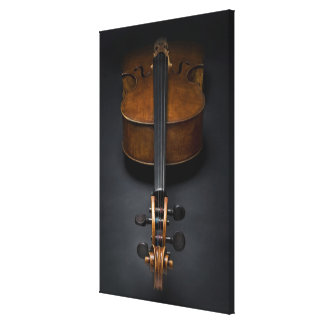 Antique Cello Canvas Print