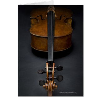 Antique Cello Card