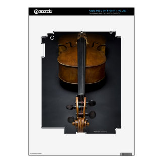 Antique Cello Decals For iPad 3