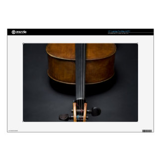 Antique Cello Laptop Skin