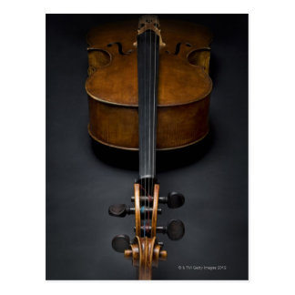 Antique Cello Postcard