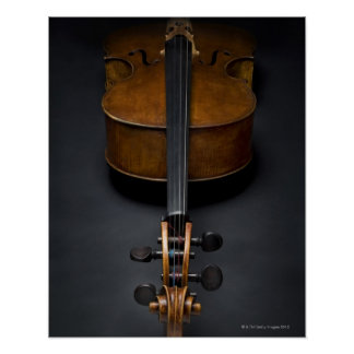 Antique Cello Poster