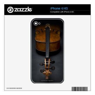 Antique Cello Skin For The iPhone 4