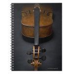 Antique Cello Spiral Note Book