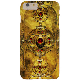 ANTIQUE CELTIC WARRIOR SHIELD WITH RUBY GEM STONES BARELY THERE iPhone 6 PLUS CASE