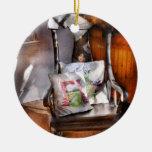 Antique - Chair - Grannies rocking chair Ornaments