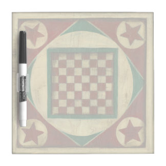 Antique Checkerboard by Ethan Harper Dry-Erase Board