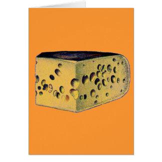Antique Cheese Gruyere Card