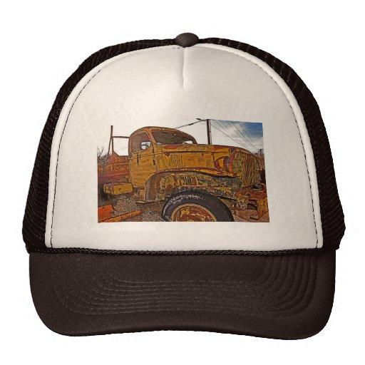 Antique Chevy Truck in Keeler, CA Hat