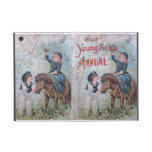 Antique Children's Book with Girl on Pony Case For iPad Mini