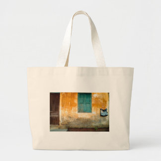 Antique Chinese embankment OF Hoi on in Vietnam Large Tote Bag