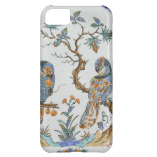 Antique chinoiserie bird porcelain china pattern case for iPhone 5C
