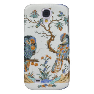 Antique chinoiserie bird porcelain china pattern galaxy s4 cover