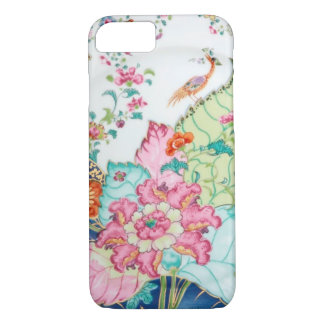 Antique chinoiserie china porcelain bird pattern iPhone 7 case