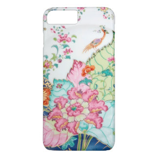 Antique chinoiserie china porcelain bird pattern iPhone 7 plus case