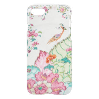 Antique chinoiserie china porcelain bird pattern iPhone 8/7 case