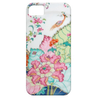 Antique chinoiserie china porcelain bird pattern iPhone SE/5/5s case