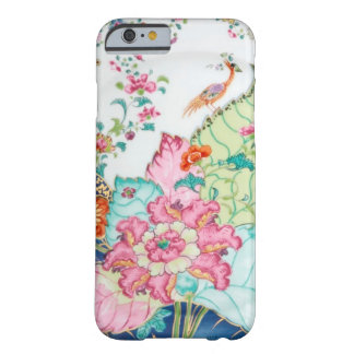 Antique chinoiserie china porcelain bird pattern iPhone 6 case