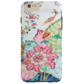 Antique chinoiserie china porcelain bird pattern tough iPhone 6 plus case