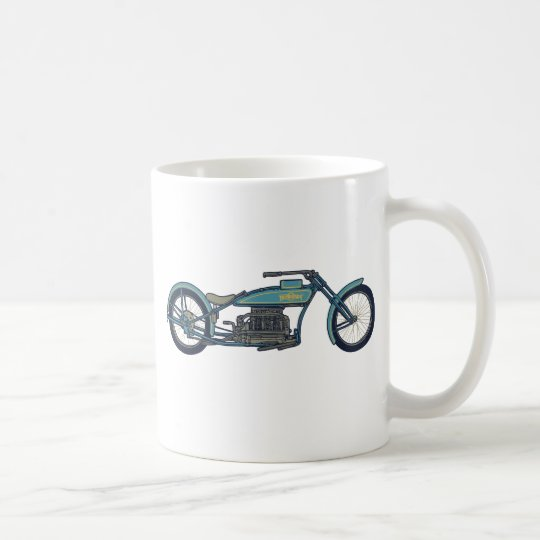Antique Chopper II Coffee Mug