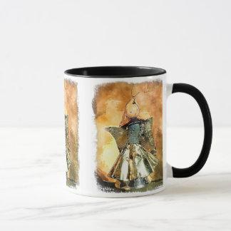 Antique Christmas Angel Watercolor Design Mug