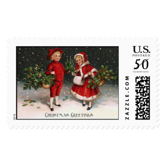 Antique Christmas Stamps