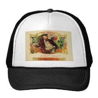 Antique Cigar Label  THE JUDGE  (L6) Trucker Hat