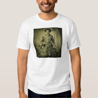 Antique Civil War Soldier Confederate Tintype Shirt