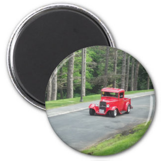 antique classic car show pic raw 002 magnet