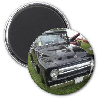 antique classic car show pic raw 009 magnet