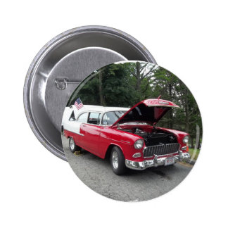 antique classic car show pic raw 012 pinback button