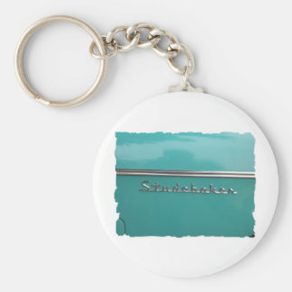antique classic car show pic raw 021 keychain